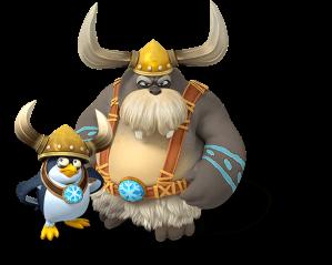 Snowmads, o principais inimigos do game